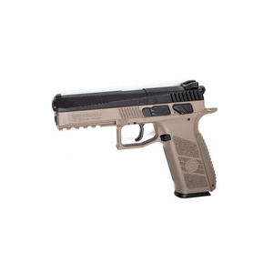 CZ P-09 Duty BB/Pellet Pistol, Dual-Tone FDE 0.177