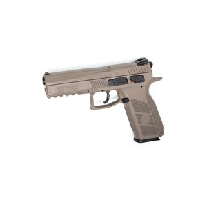 CZ P-09 Duty BB/Pellet Pistol, Flat Dark Earth 0.177