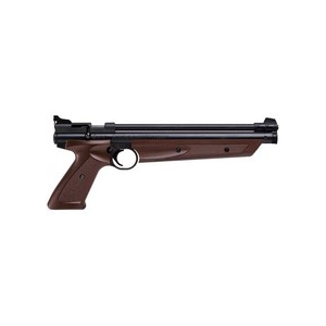 Crosman 1377C / PC77 Pellet Pistol, Brown 0.177