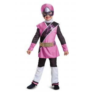 Ninja Steel Pink Ranger Toddler Muscle Costume