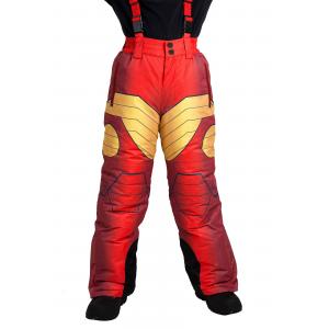 Iron Man Superhero Snow Pants