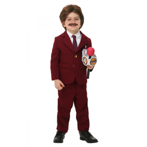 Anchorman Ron Burgundy Costume for toddler
