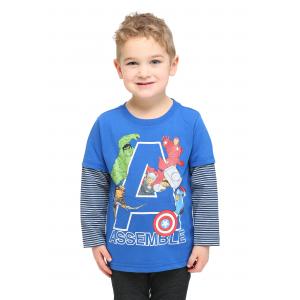 Avengers Assemble Long Sleeve Toddler Shirt