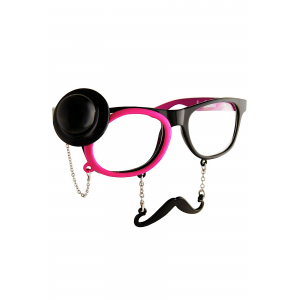 Adult Western Sunglasses with Monocle