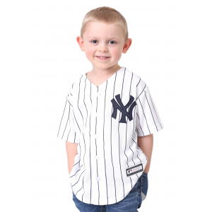 Yankees Home Replica Blank Back Jersey for Kids