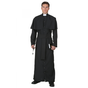 Deluxe Priest Costume for Men