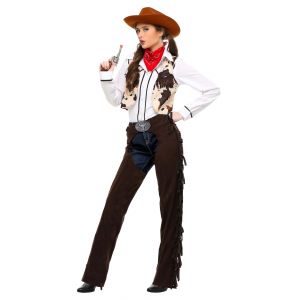 Cowgirl Chaps Costume for Women