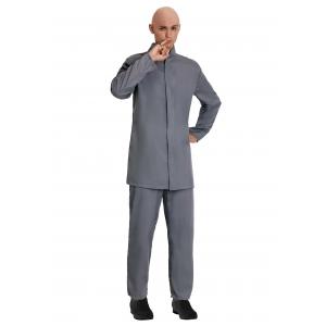 Deluxe Evil Gray Suit Costume for Men