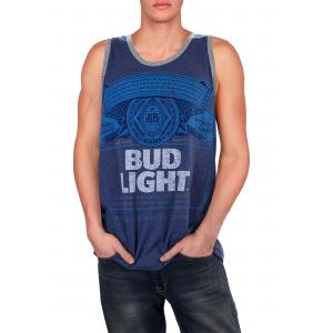 Bud Light Distressed Tank
