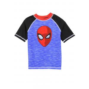 Toddler Spider-Man Swim Rash Guard