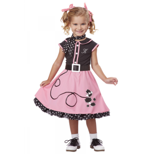 50s Poodle Cutie Costume for Toddlers