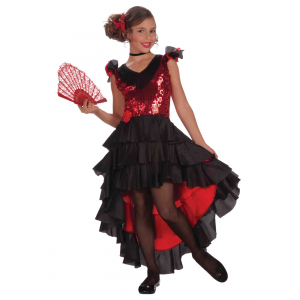 Childs Spanish Dancer Costume