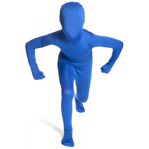 Kid's Blue Morphsuit Costume