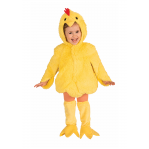 Childrens Plush Chicken Costume