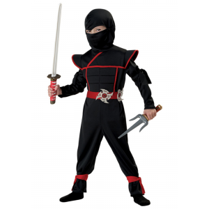Stealth Ninja Costume for Toddlers