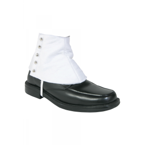 Gangster Shoe White Spats