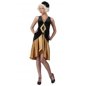 Roaring 20's Flapper Plus Size Costume for Women XL 1X XXL 2X 3X 4X 5X 6X