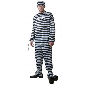Prisoner Costume for Men