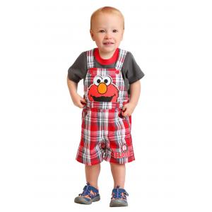 Sesame Street Elmo Shortall Set for Toddler Boys