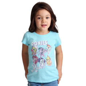 Toddler My Little Pony Ponies Rule Girl's T-Shirt