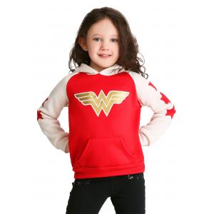 Toddler Girl's Wonder Woman Hoodie