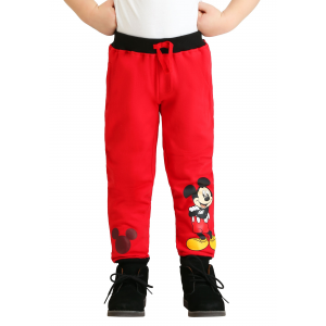 Boy's Toddler Mickey Mouse Fleece Pants 2-Pack