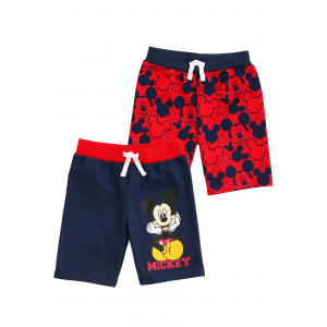 Mickey Mouse Faces Shorts 2-Pack For Toddler Boys