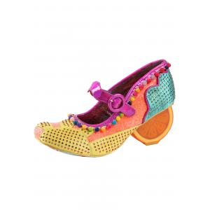 'Fruit Punch' Orange/Mint Orange Irregular Choice Heels