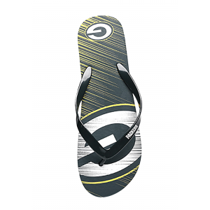 Green Bay Packers Diagonal Stripe Unisex Flip Flops