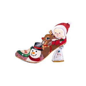 'Santa's Workshop' Irregular Choice Christmas Heels w/ Flashing Lights