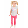 Peppa Pig Gray Shirt and Legging Set for Girls
