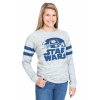 Star Wars Rebel Scum Stripes Juniors Burnout Sweatshirt