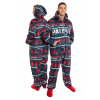 Unisex New England Patriots Wordmark Onesie