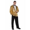 Gold Sequin Jacket for Men