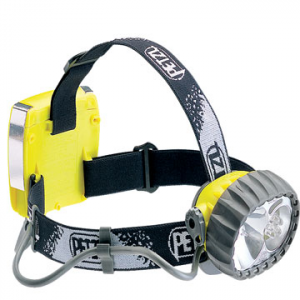 petzl duo led 5 headlamp- Save 15% Off - Petzl Duo LED 5 Headlamp - Waterproof down to 5 meters and sturdily constructed, the Duo 5-LED headlamp is perfect for water sports. Originally developed for for caving, the Duo LED 5 stands up to extreme conditions and is resistant to impacts, dust and humidity. Its hybrid light source adapt to changing conditions. Five LEDs provide a wide beam for for cooking, reading maps, and other camp activities. For long-range lighting, the focused beam of the halogen bulb is just what you need. The on/off switch can be locked to prevent accidental operation. The comfortable headband adjusts to keep the Duo in place, and a spare halogen bulb fits in the light body. The Pezl Duo LED 5 is a powerful headlamp adaptable to your diverse lighting needs.