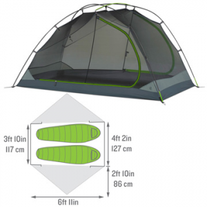 kelty trailogic tn 2-person camping tent- Save 15% Off - Kelty TraiLogic TN 2 Tent - The feature-rich TraiLogic TN 2 Tent by Kelty is a compact and lightweight shelter for 2, designed to pack easily while saving space inside your backpack.  Part of Kelty's new TraiLogic collection, the TN 2 features shorter poles so that you can pack it into the flat, rectangular Tent Cube to help save space in Kelty's TraiLogic PK 50 (or any other) backpack. The revolutionary snap-clip technology on the TN tent ensures an effortless set-up while the oversized doors offer convenient entry. The Stargazing Fly gives an unobstructed view of the sky for nighttime entertainment.  And if it does begin to rain, the TN 2's fly can be fully deployed without ever leaving your sleeping bag. Easy to haul on any trail, the Kelty TraiLogic TN 2 Tent is your compact and well-engineered home away from home!