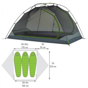 kelty trailogic tn 3-person camping tent- Save 15% Off - Kelty TraiLogic TN 3-Person Tent - The feature-rich TraiLogic TN 3 Tent by Kelty is a compact and lightweight shelter for 3, designed to pack easily while saving space inside your backpack.  Part of Kelty's new TraiLogic collection, the TN 3 features shorter poles so that you can pack it into the flat, rectangular Tent Cube to help save space in Kelty's TraiLogic PK 50 (or any other) backpack. The revolutionary snap-clip technology on the TN tent ensures an effortless set-up while the oversized doors offer convenient entry. The Stargazing Fly gives an unobstructed view of the sky for nighttime entertainment.  And if it does begin to rain, the TN 3's fly can be fully deployed without ever leaving your sleeping bag. Easy to haul on any trail, the Kelty TraiLogic TN 3 Tent is your compact and well-engineered home away from home!