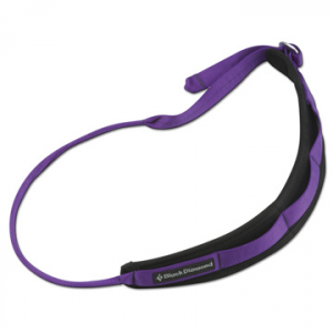 black diamond padded rock climbing gear sling- Save 14% Off - Black Diamond Padded Rock Climbing Gear Sling - The anatomically-shaped Padded Gear Sling from Black Diamond organizes your rack and takes weight off your harness. Simply slide it over your shoulder and adjust with the buckle. The adjustable webbing also makes the Padded Gear Sling easy to pass to your climbing partner for the next pitch. The fleece lining provides comfort and wicks away moisture. Keep organized with the Black Diamond Paddled Gear Sling.