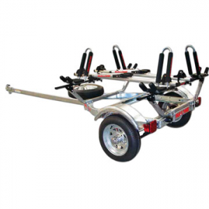 malone microsport 2-kayak 2-bike trailer package- Save 10% Off - Malone MicroSport 2 Kayak 2 Bike Trailer Package - The Malone MicroSport 2 Kayak 2 Bike Trailer Package is the perfect combination of affordability, quality, and design reliability. This premium built kayak trailer is designed specifically for 2 kayaks and 2 bikes. The galvanized steel frame can support over 350 lbs. The 65