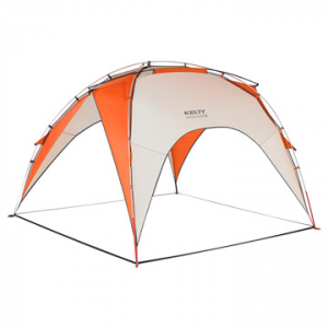kelty shade maker 2 shelter- Save 15% Off - Kelty Shade Maker 2 Shelter - The Shade Maker 2 Shelter by Kelty is a heavy duty shelter that has plenty of room to provide shade and protection for your entire family! This convenient, portable shelter has a free standing design and clip construction which makes it easy to set up and the packbag stuffsack makes transporting the Shade Maker 2 extremely simple. Don't let the sun or rain interfere with your big plans. The Shade Maker 2 offers enough sun or rain coverage for the whole family. Get quick, effective, and easy to use protection from the sun and light rain with the Kelty Shade Maker 2 Shelter.