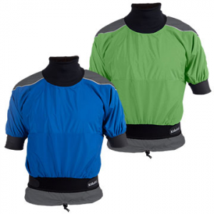 photo: Kokatat Tropos Blast Short-Sleeve Jacket short sleeve paddle jacket