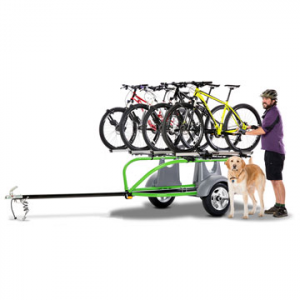 sylvansport go-easy essential cycling package- Save 15% Off - Sylvansport Go-Easy Essential Cycling Package - The Go-Easy Essential Cycling Package by Sylvansport is a finely tuned bike carrier on wheels. Made with a durable, powder-coated steel frame that is resistant to the elements, and a lot of rack space, this trailer will carry as many as seven bikes to that favorite course or single track. With a 36