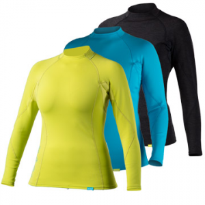photo: NRS Women's HydroSkin 0.5 Shirt - L/S