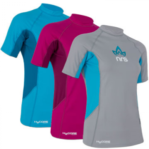 nrs women's h2core rashguard shirt- Save 48% Off - NRS Women's H2Core Short Sleeve Rashguard - The Women's H2Core Short Sleeve Rashguard by NRS will have you feeling content and comfortable while you paddle your way to happiness. The soft rashguard fabric breathes freely, wicks moisture and protects your skin from abrasions when you're paddling or surfing. It provides advanced UPF 45+ protection against the sun for SUP, kayaking, rafting and other active water sports. A form-fitting performance cut allows unrestricted movement and creates friction-free zones under the arms for comfortable paddling. The nylon-spandex technical fabric wicks moisture away from the skin and dries quickly for cool comfort on the water. The silky exterior ensures fluid, athletic performance while the brushed inner surface feels soft and cool on your skin. Whether you are casually paddling your favorite watering hole, or charging down a raging river, make sure you have the Women's H2Core Short Sleeve Rashguard by NRS.