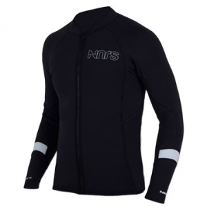 photo: NRS HydroSkin 1.5 Jacket long sleeve paddle jacket