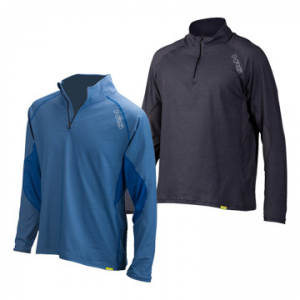 photo: NRS Men's H2Core Lightweight Zip Neck Shirt