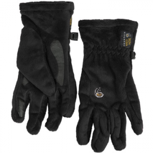 mountain hardwear women's posh gloves- Save 60% Off - Mountain Hardwear Women's Posh Gloves - The Women's Posh Gloves by Mountain Hardwear are made from a breathable lightweight material making them a soft, stylish way to keep your hands warm. Designed specifically for women, they are perfect for walks down snowy streets and hikes in the mountains. Made with flat-lock construction that creates a seamless fit, you will almost forget that you have these on. The soft and silky polyester fleece blocks wind and cold, while welded palm and finger patches add wear resistance and improve your grip. If your idea of a perfect day involves hours in the cold, make sure you have the Women's Posh Gloves by Mountain Hardwear.