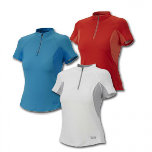 photo: Mountain Hardwear Aliso Short-Sleeve Zip T short sleeve performance top