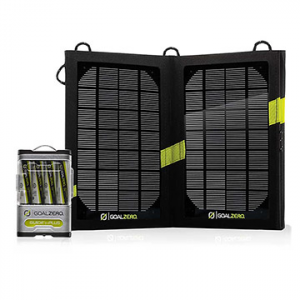 photo: Goal Zero Guide 10 Plus Solar Kit solar charger