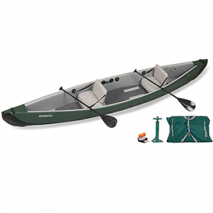 sea eagle travelcanoe tc16 inflatable canoe start up tandem package- Save 23% Off - Sea Eagle TravelCanoe TC16 Inflatable Canoe Start Up Tandem Package - This package includes the Sea Eagle TravelCanoe TC16 Inflatable Canoe, 2 canoe paddles, 2 inflatable canoe seats, 1 high-pressure pump, repair kit, and an All-Purpose storage/carry bag.